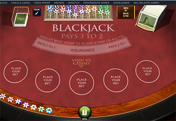 Playing blackjack online tips